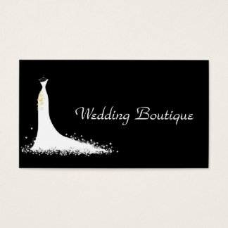 Hochzeits-Geschäft Visitenkarte