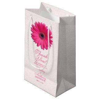 Hochzeits-Geschenk-Taschen-Rosa Gerber Kleine Geschenktüte