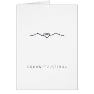 Hochzeits-Glückwunsch-Liebe | süß und einfach Karte