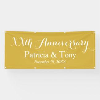 Hochzeits-Jahrestag personalisiert Banner