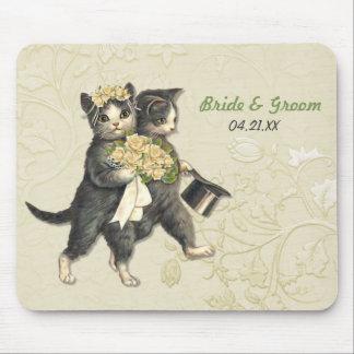 Hochzeits-Katzen Mousepads