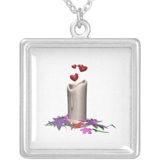 Hochzeits-Kerze Personalisierter Schmuck