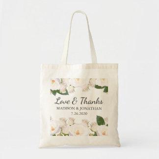 Hochzeits-mit BlumenLiebe u. Dank-Hotel-Willkommen Tragetasche