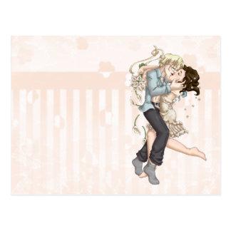 Hochzeits-Nacht Postkarte
