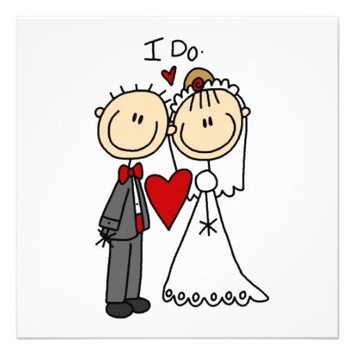 Hochzeits-Paare tue ich T-Shirts und Geschenke Einladungen