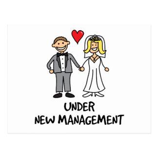 Hochzeits-Paare - unter neuem Management Postkarte