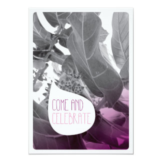 Hochzeits-Party Einladungskarte der niedlichen