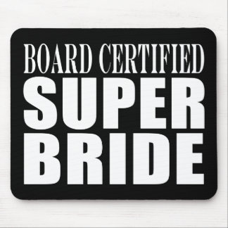 Hochzeits-Partys u Brautpartys Superbraut Mauspads