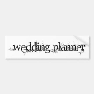 Hochzeits-Planer Autosticker