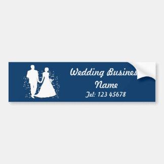 Hochzeits-Planer-Geschäfts-Thema-Sammlung Autoaufkleber
