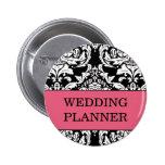 Hochzeits-Planer-Knopf Anstecknadelbutton