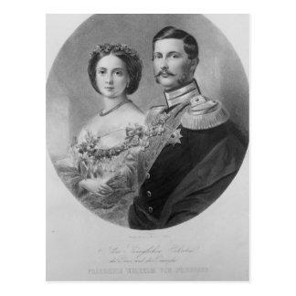 Hochzeits-Porträt ihrer königlichen Hoheiten Postkarte
