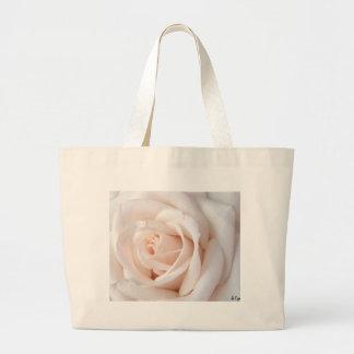 Hochzeits-Rose Jumbo Stoffbeutel