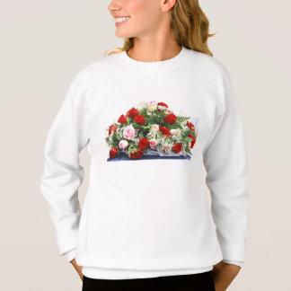 Hochzeits-Rosen-Blumenstrauß Sweatshirt