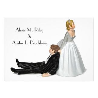 Hochzeits-Spaß Einladung