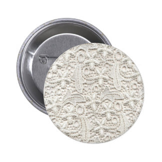 Hochzeits-Spitze Runder Button 5,7 Cm