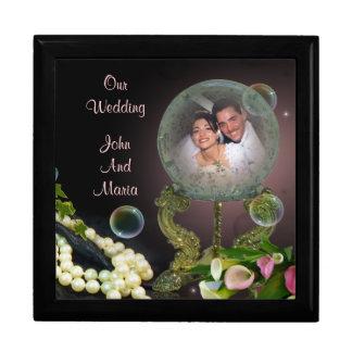 Hochzeits-TagesFoto giftbox Erinnerungskiste
