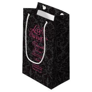 Hochzeits-Taschen-Liebe ist süßes heißes Kleine Geschenktüte