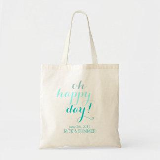 Hochzeits-Taschen-Tasche Budget Stoffbeutel