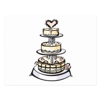 Hochzeits-Thema 38 Postkarte
