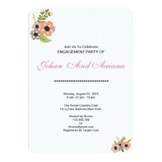 Hochzeits-Verlobungs-Party Einladungs-Karte Karte