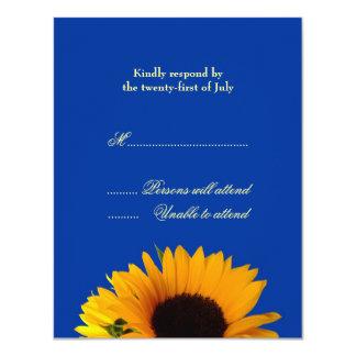 Hochzeits-Wartekarte Karte