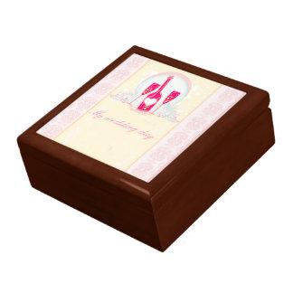 Hochzeits-Wein-Gläser giftbox Geschenkbox