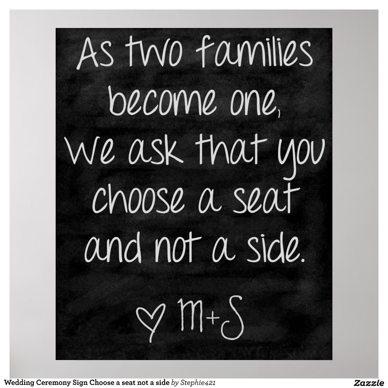 Hochzeits-Zeremonie Lese