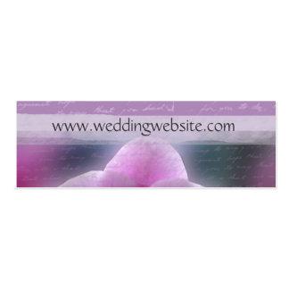 Hochzeitsgeschenkkarten/Visitenkarten