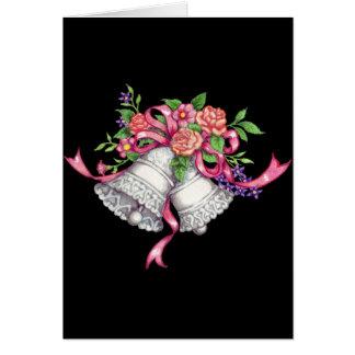Hochzeitsglocken, Hochzeitskarte Karte