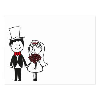 Hochzeitskarte Postkarte