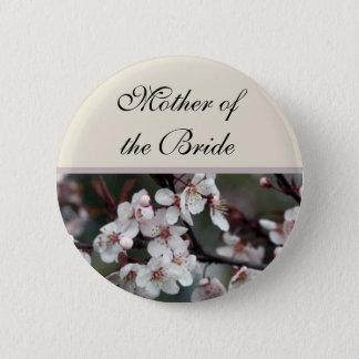Hochzeitsknopf. für Mutter Schwester, Bruder Runder Button 5,7 Cm