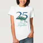 Hochzeitstag/25/25./Nr. 25 T-Shirts