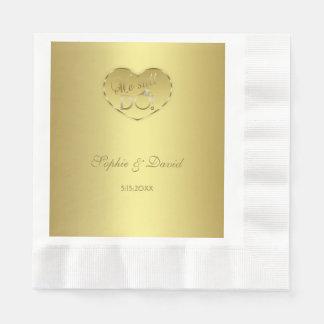 Hochzeitstag des Gold50. TUN wir noch Papierservietten