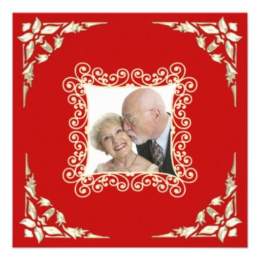 Hochzeitstag-Foto-Einladung der Gewohnheits-40.