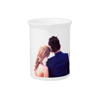 Hochzeitstag-Horizont Getränke Pitcher