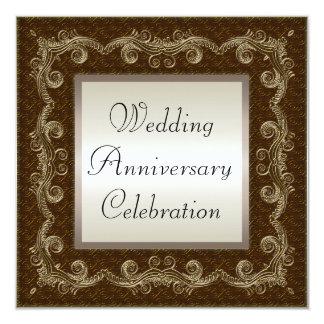 Hochzeitstag Quadratische 13,3 Cm Einladungskarte
