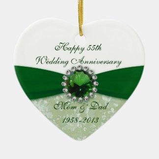 Hochzeitstag-Verzierung des Damast-55