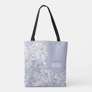 Hochzeitstasche der weißen Chrysantheme des Tasche