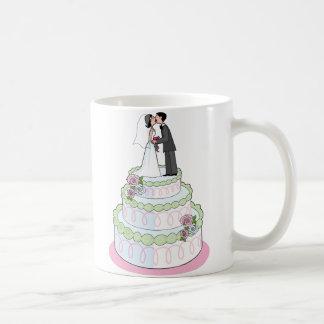 Hochzeitstorte Kaffeetasse