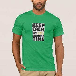 Hochzeitszeit behalten ruhiges Zw8cz T-Shirt