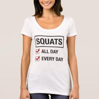 Hocke-den ganzen Tag T-Stück T-Shirt