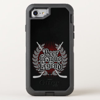 Hockey-Bier-Liga-Legende OtterBox Defender iPhone 7 Hülle