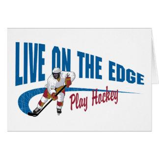 Hockey-Geschenk Karte
