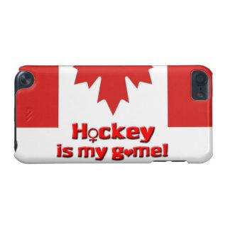 Hockey ist mein Spiel! - Womens-Hockey/kanadische iPod Touch 5G Hülle