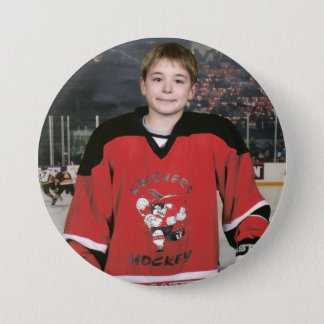 Hockey Jordaniens 06 Runder Button 7,6 Cm