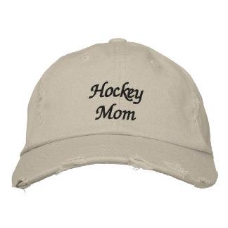 Hockey-Mamma Bestickte Kappe