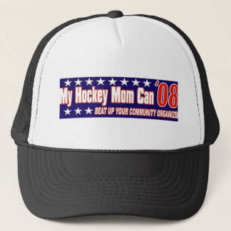 Hockey-Mamma gegen Gemeinschaftsorganisator Truckerkappe