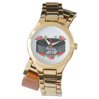 Hockey-Mamma-Kanada-Rosenahornblattuhr Uhr