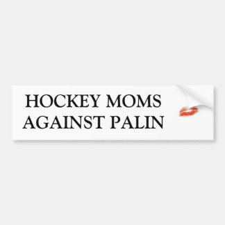 Hockey-Mammen gegen Palin Autoaufkleber